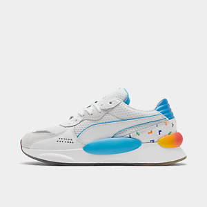 Puma X Tetris RS 9.8 White Luminous Blue Game Red Rainbow 37249001 100