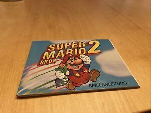 Nintendo NES Super Mario Bros 2 Anleitung