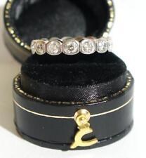 Klassischer Memory Brillant Ring aus 585/000 Weissgold mit ca.1ct   A2086