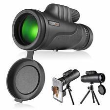 Monocular Telescope, Monocular Scope with BAK4 Prism, Rotating Eye Mask, Coated