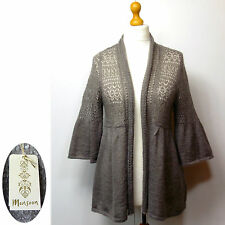 Monsoon Patternless 3/4 Sleeve Jumpers & Cardigans for Women