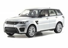 KYOSHO 1:18 RANGE ROVER SPORT SVR CLOSED BODY DIECAST CAR SILVER C09542S