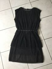 Robe haut en résille MAJE taille 2 soit 38/40 neuf noir 275€