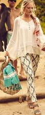 Paige 27 Blue White Ikat Verdugo Ultra Skinny Jeans Cotton Blend stretch EUC