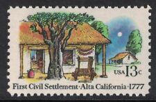 Scott 1725- First Civil Settlement, Alta California- MNH 1977- unused mint stamp