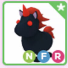 Neon Evil Unicorn NFR Fly Ride Roblox Adopt Me