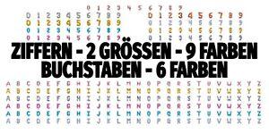 PartyDeco Ballon 35/86cm Buchstaben Ziffer Folienballon Zahlenballon Luftballon