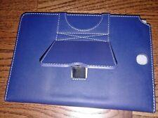 New Bluetooth Keyboard Case Samsung Galaxy tab A Plus 9.7 blue leather