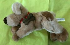 "FAO Schwarz Plush 10"" Plush Puppy Dog Stuffed"