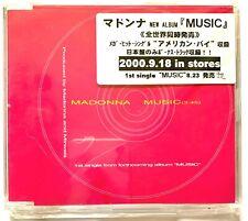 MADONNA - MUSIC : Japan PROMO 1-track CD single. Rare PCS-471 .Bought @ eil.com