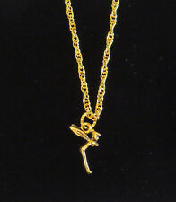 Tinker Bell Necklace Disney Tinkerbell 24 Karat Gold Plate Fairy Fairies