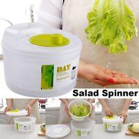 Vegetable Salad Spinner Lettuce Dryer Washer Detachable Strainer Bowl Container