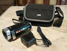 Mint - JVC Everio GZ-E200BU 8GB SD Memory Card Full HD Camcorder + Case (Black)