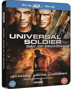 UNIVERSAL SOLDIER DAY OF RECKONING BLU RAY FILM LIMITED EDITION STEELBOOK NEW RB
