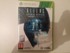 ALIENS COLONIAL MARINES GAME FOR XBOX 360 PAL GAMES NOT WAS USED ONLINE