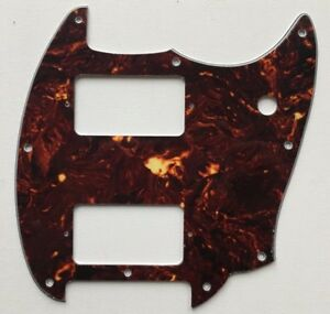 Squier Mustang Bullet Pickguard HH / Hx / HS / SS / P90 / Blank: many colours