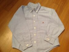 Boys size 5 Children's Place button up dress shirt blue