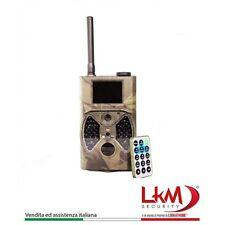 FOTOTRAPPOLA TELECAMERA INFRAROSSI DA ESTERNI LKM GPRS GSM MMS 12 MEGAPIXEL