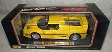 Maisto 1995 Yellow Ferrari F50 1:18 Brand New NIB