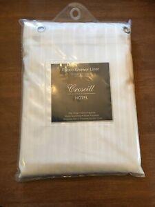 Croscill hotel Fabric Shower Liner