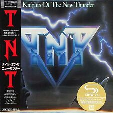 TNT - Knights of the New Thunder - Japan Mini LP SHM - Brand new