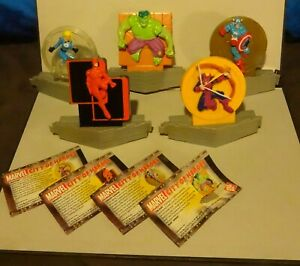 jack in the box kids meal toys MARVEL CITY OF HEROES set