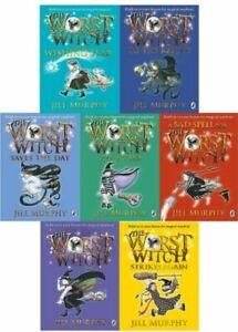 The Worst Witch Collection 7 Books Set Jill Murphy Pack, Murphy, Jill, New Book