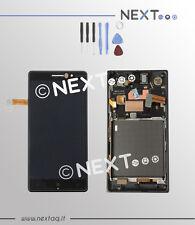 Schermo Display Touch screen vetro Nokia Lumia 830 + cornice + kit riparazione