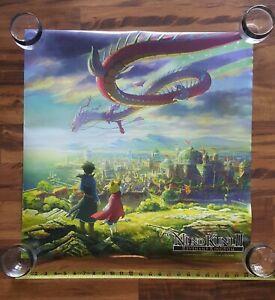 Ni No Kuni II Revenant Kingdom Official Video Game Promo Poster 24x24