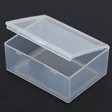 Hot Small Square Clear Transparent Plastic Storage Box Multipurpose Display Box