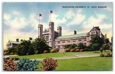 Mid-1900s Washington University, St. Louis, MO Postcard