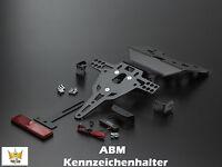 ABM Soporte de matrícula BMW R 1100S Tipo: R2S Año FAB. 98- R11s Año 04-