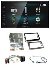 KENWOOD AUX Bluetooth USB mp3 2din Autoradio per Alfa Romeo Mito ISO 955 08-14 S