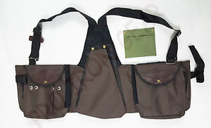 Falconry Codura Vest, Hawking, Hunting, Jungle, Wild Vest Brown (S,M,L,XL,XXL)