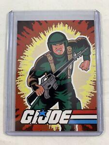 Grunt 1982 Style GI Joe Fan Made Custom Trading Card