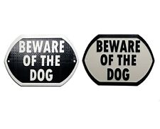 Beware Of The Dog - 3D Printed Dog Plaque - Door Gate Garden Sign