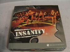 Insanity BeachBody Total Body Workout Program 10 Disc DVD Set
