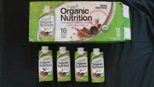 (16) Count Lot Orgain Organic Nutrition Protein Shake 11 Oz Each Iced Cafe Mocha
