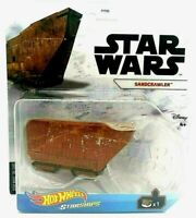 Hot Wheels Star Wars Starships SANDCRAWLER Jawa Vehicle IN HAND! SHIPS FAST!