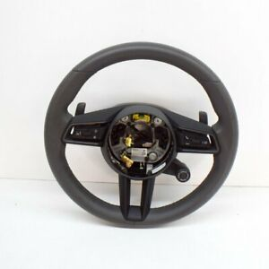 PORSCHE 911 992 Multi Steering Wheel With Shift Pads 992419091G 62907001A 2019