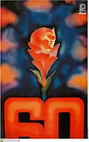 Political OSPAAL POSTER.Soviet Revolution.LENIN Russia 5.Communist Socialist Art