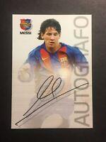 2004 Panini Megacracks Lionel Messi Barca Campeon #89 rookie.