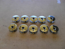 10 X STEEL BOBBINS FOR PHAFF STRAIGHT SEWERS MODEL NO 463 PART NO 9033
