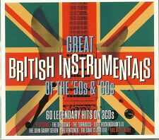 GREAT BRITISH INSTRUMENTALS OF THE 50'S & 60'S Inc THE SHADOWS, JOE BROWN & MORE