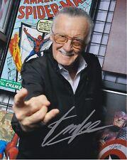 Stan Lee Marvel Comics autographed 8x10 photograph RP
