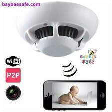 Smoke Detector Hidden Nanny Cam | WIFI Hidden Spy Camera Smoke Detector -Baybees