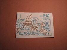 Sweden Booklet Scott# 1738A Europa 1989 Mint L2
