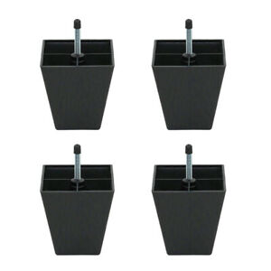 4x Bed Riser Table Lifts Furniture Square Feet Plinth Floor Protector 10mm
