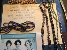 jewellry and crafts, earrings, gift sets, angels, downton abbey pearls
