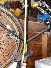 Nice 10 Speed Bike Frame  Used Part with handlebars and crank